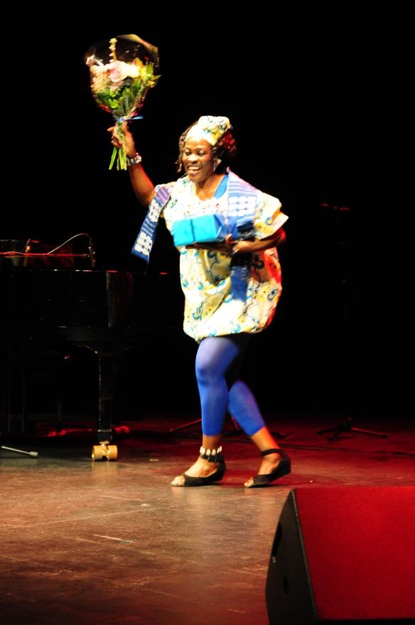Årets Maisha pionjär Clementine Akuyo Brown