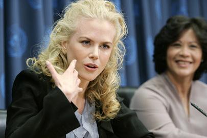 Nicole Kidman. Foto: UN Mark Garten