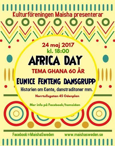 Maisha Africa Day flyer 2017
