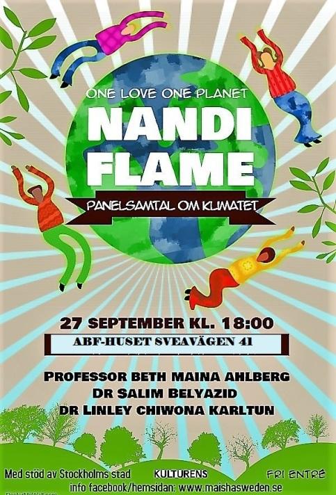 Nandi Flame samtal om klimatet