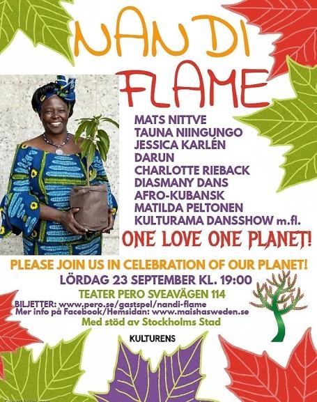 Maisha Event poster Nandi Flame
